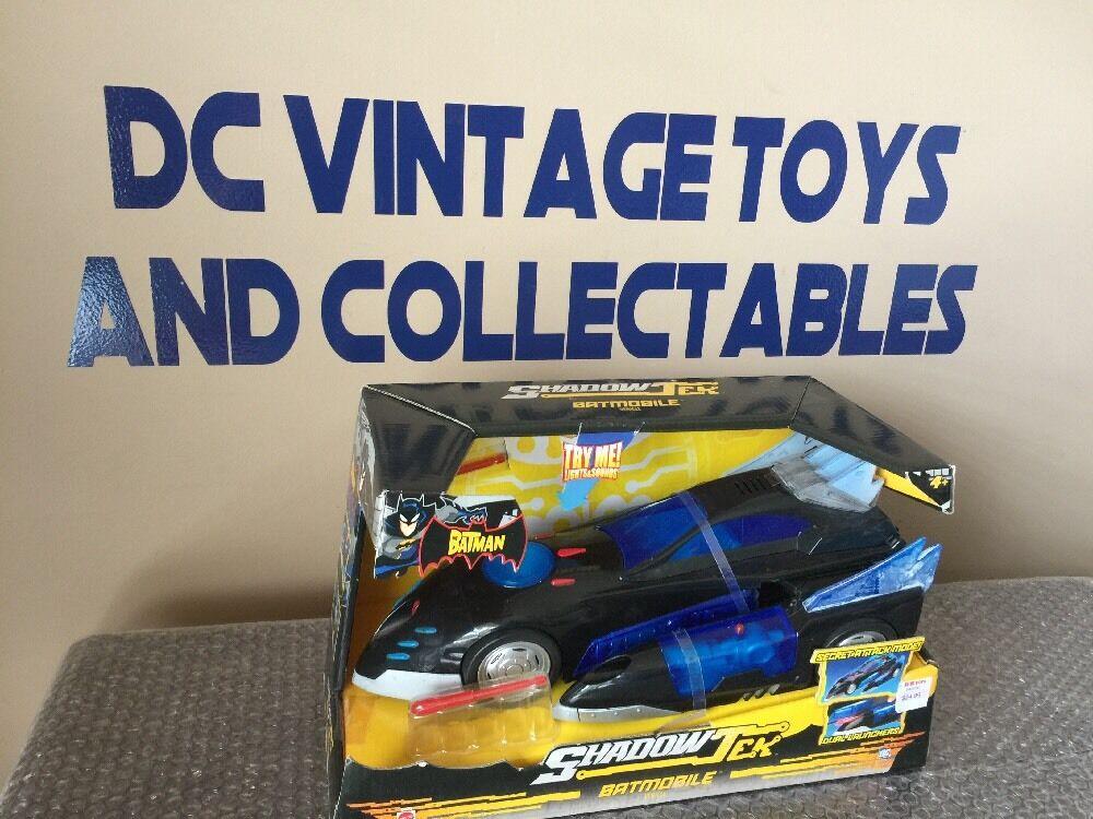 The Batman Shadow Tek Batmobile vehicle 10 inch Mattel NIP S101-6