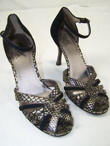 Carlos-by-Carlos-Santana-Heels-Shoes-Open-Toe-Ankle-Womens-Size-8-5-8-1-2-M