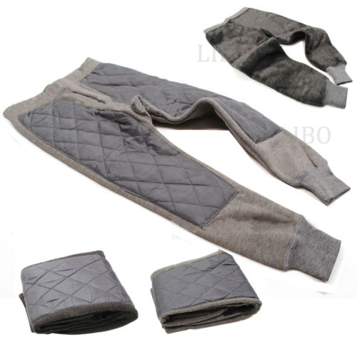 New Kids Baby Boys Girls Winter Fleece Pants Thick Trousers Windproof Warm 5-9Y