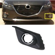 2014-2016 Mazda 3 Front Grille Left /& Right Chrome Bezel Trim /& Emblem OEM