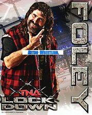 TNA PROMO MICK FOLEY WRESTLING 8x10 PHOTO IMPACT WWE