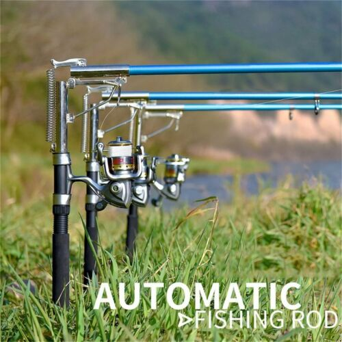 Lightweight Stainless Steel Auatic Fishing Rod Sea River Lake Fishing Pole EL