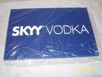 Skyy Vodka - 18 X 12 Square Rubber Bar Rail Spill Mat -