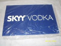 Skyy Vodka - 18 X 12 Square Rubber Bar Rail Spill Mat -