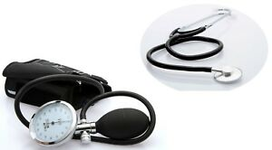 Manual-Blood-Pressure-Monitor-Optimum-Sphygmomanometer-amp-Stethoscope-Free-Bag