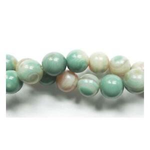 Jade Jade Perles rondes 6 mm vert 60 PCS pierres précieuses Bijoux Making Crafts