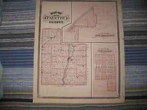 Mint Antique 1876 Fayette County East Connersville Fayetteville