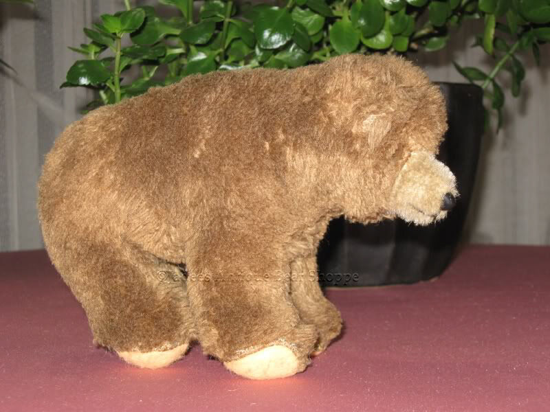 Hermann 1970s marrone Dralon Mohair 7 Inch Bear Cub