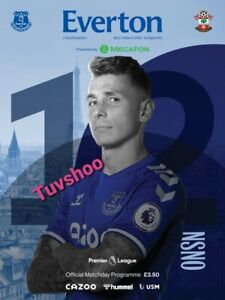Everton v Southampton PREMIER LEAGUE Programme 1/3/21! IMMEDIATE DISPATCH!!!