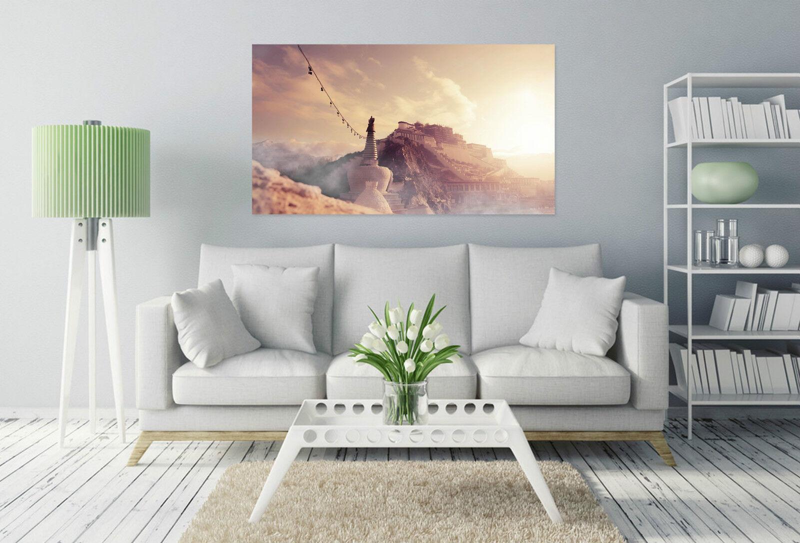 3D Hohe Fantasieschloss 345  Fototapeten Wandbild BildTapete Familie AJSTORE DE