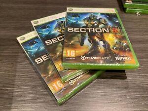 Section 8 Xbox 360 Versiegelt Neu Verschlossen IN Spanisch