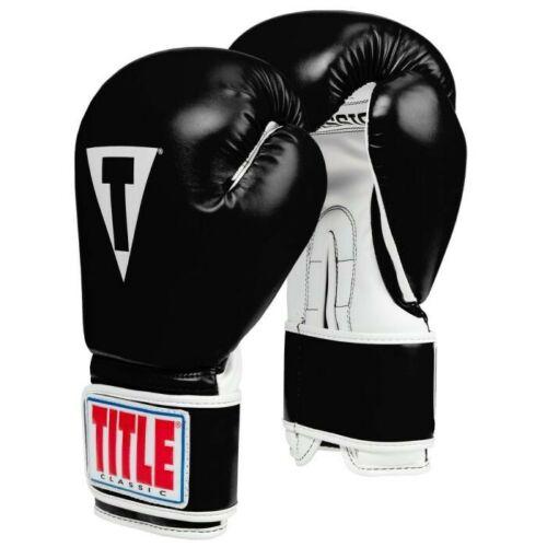 12oz. TITLE Classic Pro Style Training Gloves 3.0 size