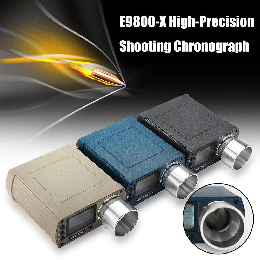 E9800-X Shooting Chronograph Speed Measure Tester Tool High Precision Eyeful