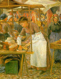 PISSARRO15-ARTIST-PAINTING-REPRODUCTION-HANDMADE-OIL-CANVAS-REPRO-WALL-ART-DECO