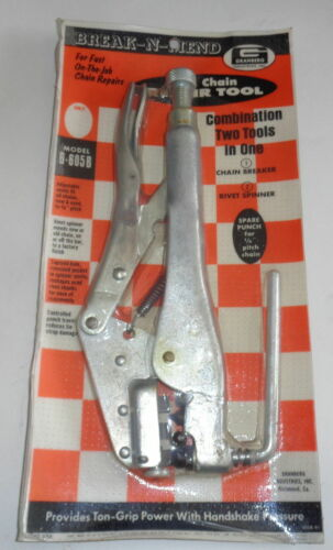 Details about  /New GRANBERG G-605B BREAK-N-MEND Saw Chain Repair Combination Tool