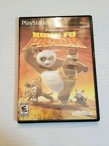 PS2-Kung-Fu-Panda-Sony-PlayStation-Video-Game-Disc-Case-Manual