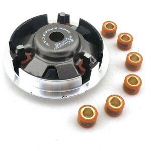 Performance-Kupplung-Variomatik-12g-6-Stueck-Variorollen-Fuer-125-150cc-Roller