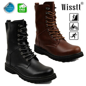 Mens Tactical Water Boots Military