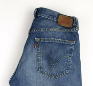 LEVI'S STRAUSS & CO Hommes 501 Jeans Jambe Droite Taille W31 L34 APZ359