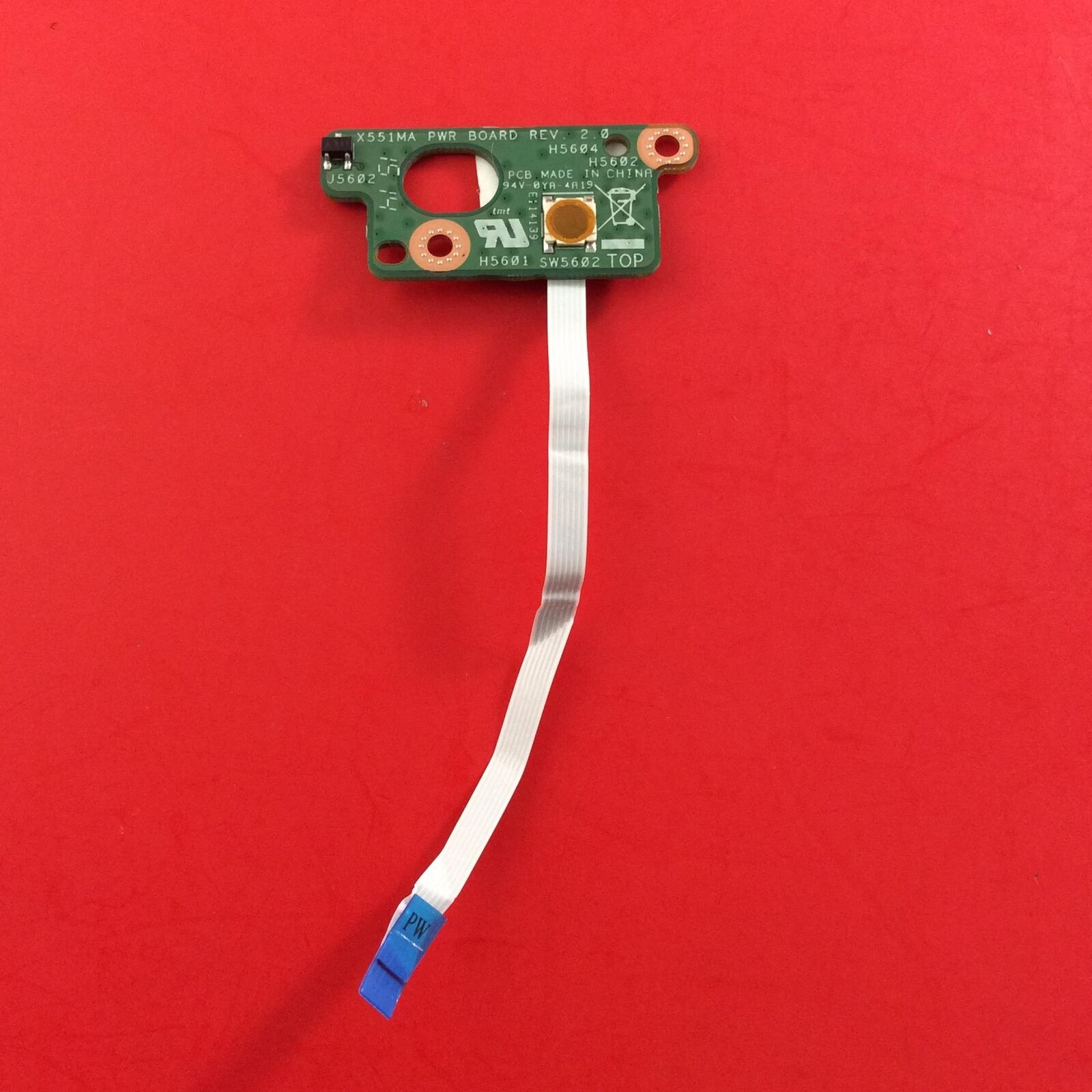 Power Switch ON// Off Button Board Cable FOR ASUS X551MA 60NB0480-PS1040-200 CDJA