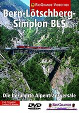 DVD Die Bern-Lötschberg-Simplon-Bahn BLS Rio Grande