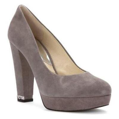 Women's Shoes Michael Kors SABRINA PUMP Slip On Dress Pumps Suede GREY