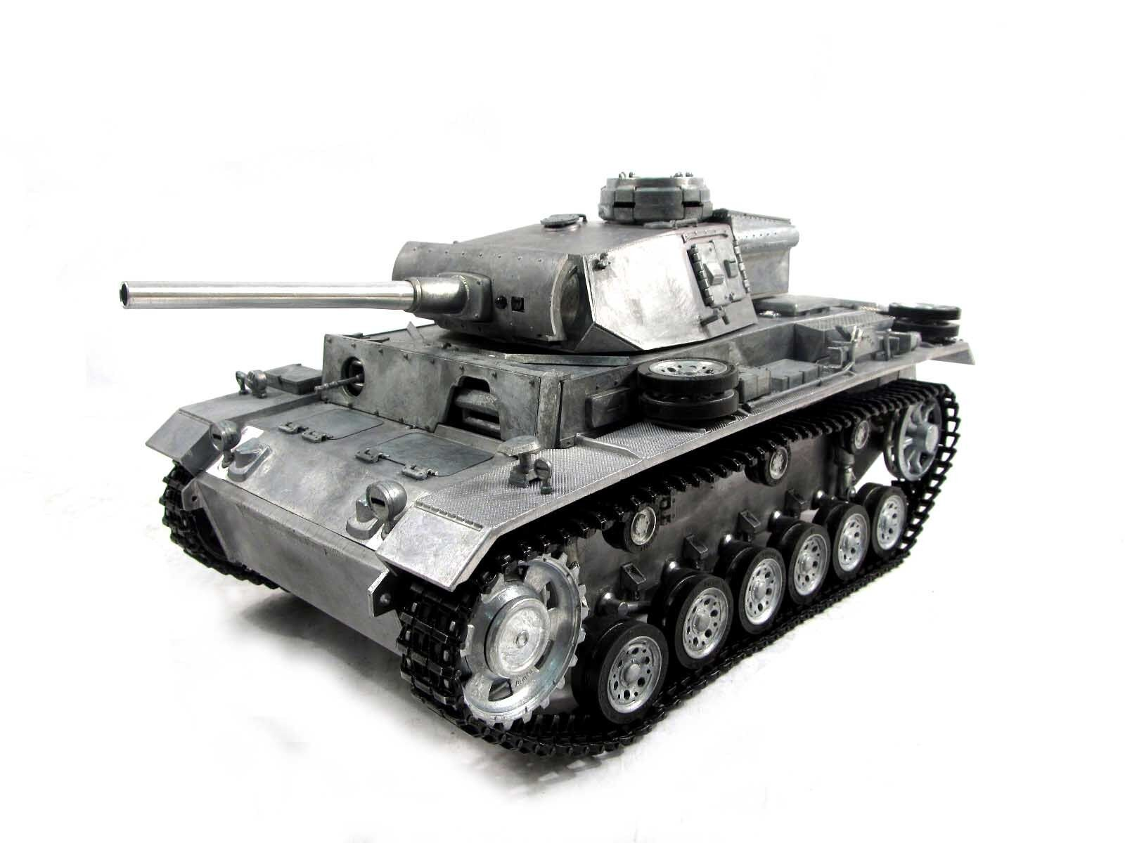 Complete Metal 1 16 Mato Panzer III KIT Ver Infrared RC Tank Metal color 1223