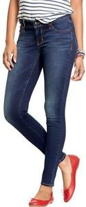 Womens-Old-Navy-Rockstar-24-7-stretch-jeggings-medium-wash-size-16-NWT-40-price