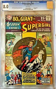 Supergirl-Action-Comics-334-CGC-8-0-Origin-story-silver-age-comic