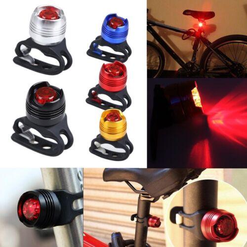 2Pcs LED Fahrrad Rücklicht Lampe Fahrradlicht Wasserdicht Rückleuchte Sicherheit