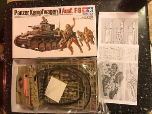 Tamiya-Military-Miniatures-Series-No-9-1-35-German-Panzer-Kampfwagen-II-Ausf-F-G