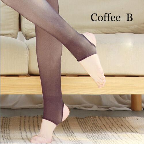 Flawless Legs Fake Translucent Warm Fleece Pantyhose Free Shipping US