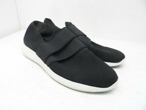 Vince-Men-039-s-Slip-On-Casual-Athletic-Sneakers-Black-White-Size-9M