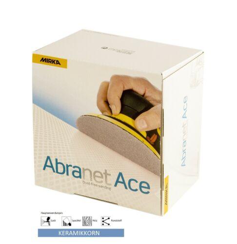 Mirka Abranet ACE Schleifscheiben Klettscheiben  150 mm VE =50 Scheiben Korn 120