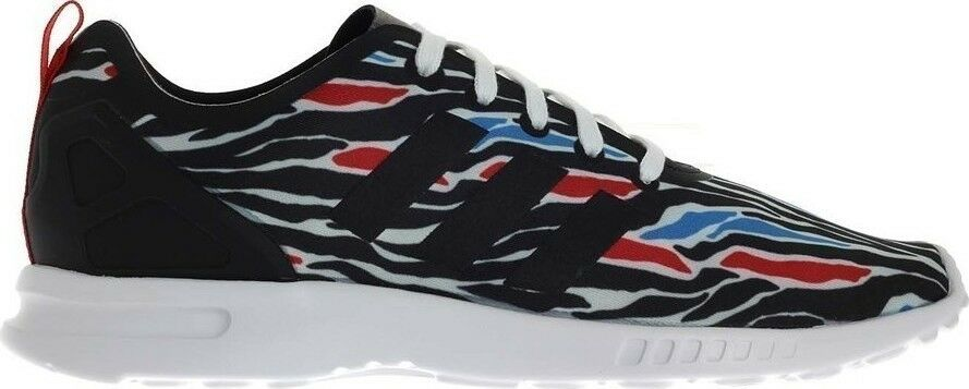 ADIDAS ZX FLUX SMOOTH Originals WOMENS AQ5493 Zebra Torsion NEW
