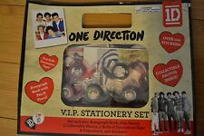 One Direction 1D V.I.P Stationery Set Autograph Book, Pen, Pencil,More - NEW