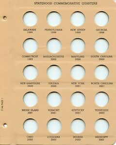 Dansco Coin Collection Folder for General Half US Dollars 2 Panels Album Free SH