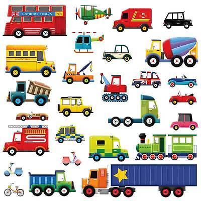 Kindermobel Wohnen Wandsticker Wandtattoo Transportfahrzeuge Autos Kinderzimmer Jungen Kinder Auto Mobel Wohnen Elin Pens Ac Id