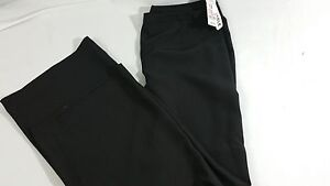 Plus Black Pants Jcpenny Worthington Nwt per l'ufficio Slacks 12 Carriera 71Wzx