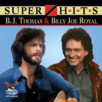 B.j. Thomas, B.j. Thomas & Billy Joe Royal - Super Hits [new Cd] on sale