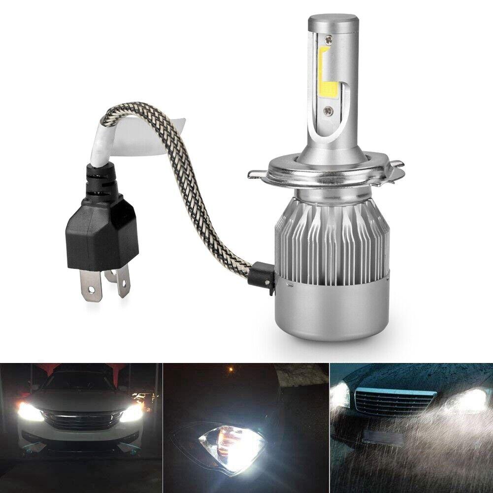 Ford Fiesta MK6 55w Super White Xenon High//Low//Canbus LED Side Headlight Bulbs