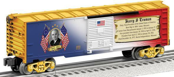 Lionel Harry Truman Boxcar MADE IN USA PRESIDENTIAL BOXCAR