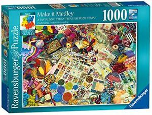 Ravensburger-Jigsaw-Puzzle-MAKE-IT-MEDLEY-Craft-Lovers-1000-Piece