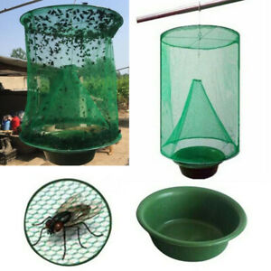 The-Ranch-Fly-Trap-Reusable-Fly-Catcher-Killer-Cage-Net-Trap-Pest-Bug-Catch