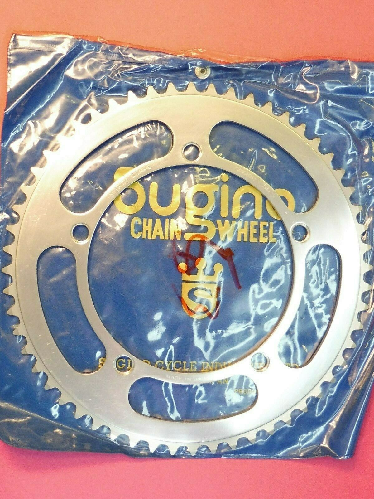 Sugino Mighty Comp.  144 PCD  56 t    chainring   NOS L'eroica  save on clearance