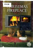 Christmas Fireplace Dvd W/ Holiday Piano & Guitar Music Filmed In Hd 2009