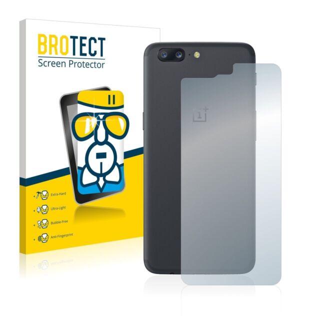 OnePlus 5 (Back),  BROTECT® AirGlass® Premium Screen Protector, Extra-Hard