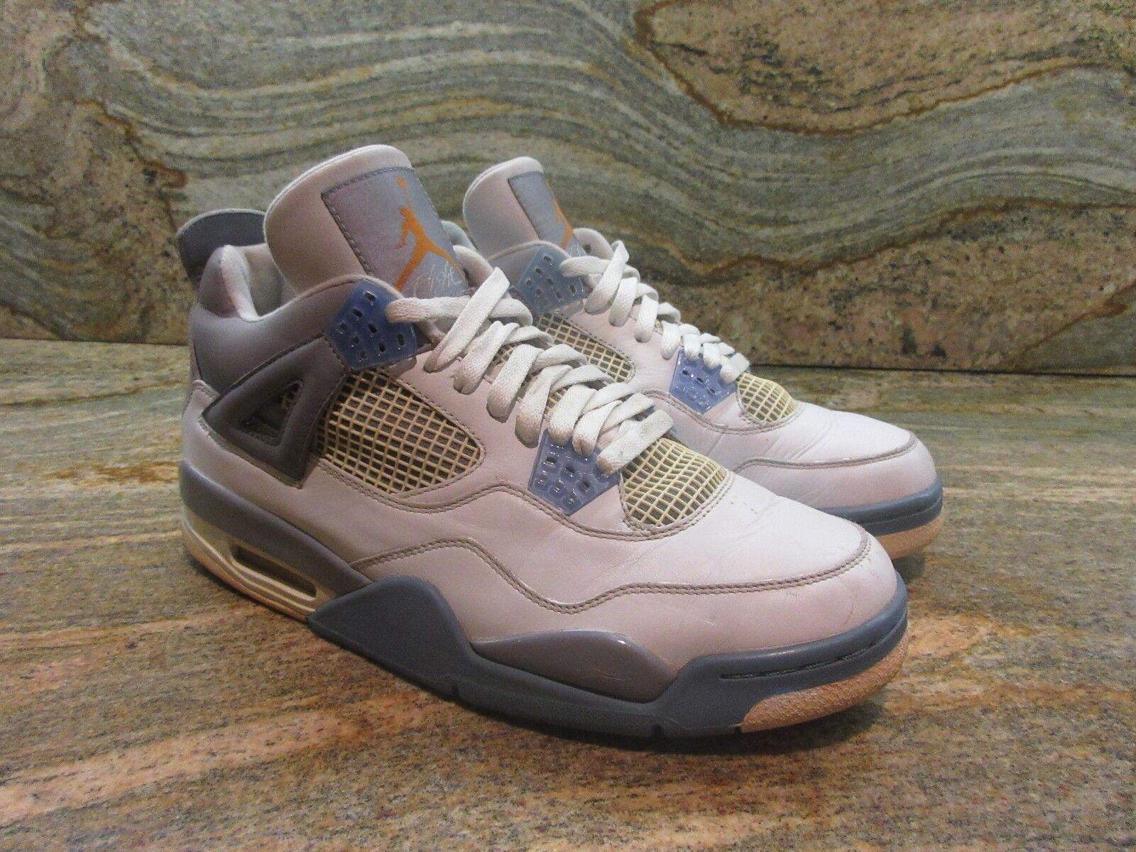 UNRELEASED 2006 Nike Air Jordan Retro Mist 4 Sample SZ 9 Mist Retro Bleu Look See Promo OG ca1fe6