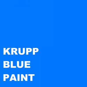 KRUPP BREAKER BLUE Paint Machinery Enamel Gloss Paint 1lt Brush or Spray 1000ml