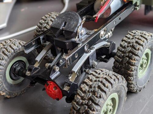 3D Imprimé 1//16 5th roue Semi Articulé Attelage Remorque WPL JJRC RC Camions